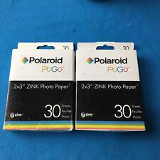 60 Sheets Polaroid Pogo 2x3 Zink Media Photo Paper for HP Sprocket/Polaroid/LG