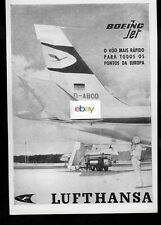 LUFTHANSA GERMAN AIRLINES BOEING 707 #D-ABOD & CONVAIR 340 PONTOS DA EUROPE AD