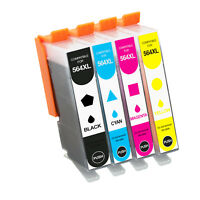 New Compatible 564XL Ink Cartridge for HP DeskJet 3070 3522 3526 (4 PACK)