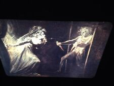 "Henry Fuseli ""Garrick & Pritchard, Macbeth"" German Romantic Art 35mm Glass Slide"