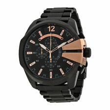 DIESEL DZ4309 Chief Chronograph Black Dial Stainless Steel Analog Men's Watch