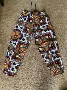 Urban Outfitters Xander Printed Patchwork Pants mens (Size M)