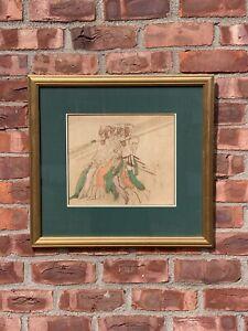 Circa 1570 Northern Italian Painting Of 5 Pikemen. Christies Auction Provenance