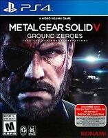 Metal Gear Solid V: Ground Zeroes Ps4 PlayStation 4 Game Disc Only 33p Mgs 5