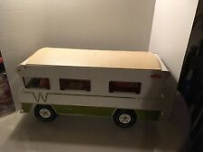 New Listing1970's Tonka Indian Winnebago Rv motor home camper with 5 family figures inside