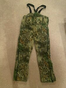 Walls Insulated Hunting Bibs - XL - Realtree Camo - Good Condition