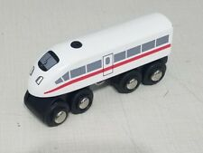 Brio High Speed White Train with Horn Sound Battery Operated Wooden Toy Thomas