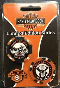 Harley-Davidson Limited Edition Poker Chips Series 9 DAR6709