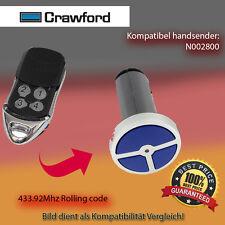 Handsender Garagentorantriebe 433,92 MHz CRAWFORD N002800 Funksender