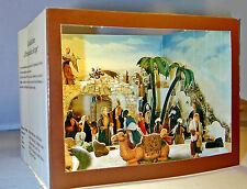 Orientalische Krippe Schöne Papierkrippe Pop-up Faltkrippe Guckkästchen Diorama