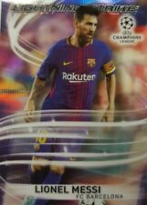 2018 Topps UEFA Champions League Chrome  Lightning Strike Card  Lionel Messi LS-
