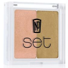 Pressed Powder Gold Face Makeup with Minerals
