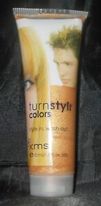 KMS Turnstylr Style In & Wash Out TEMPORARY HAIR COLOR ~ Gold Rush ~ 1.7 oz.!!