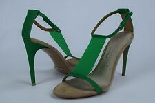 NIB $650 Womens Burberry Taylor Green Sandals sz 9 US 39 EU