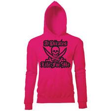 Cotton Blend Hooded Skull Hoodies & Sweats for Women