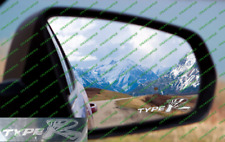 Honda Civic Type R Ep3 Etch Glass / frosted Rising Sun Wing Mirror Sticker 2 jdm