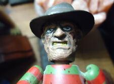 """Freddy Krueger, A Nightmare on Elm Street, Mezco,Freddy Vs. Jason 3""""Mini Figure"""