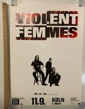 Violent Femmes Koln Concert Poster @ E Werk Classic Indie Punk Music Rock