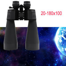 Zoomable 20-180x100 Powerful Optics Binoculars Night Vision Telescope waterproof