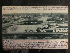 1904 Tientsin China RPPC Postcard Cover To Muenchen Germany Tungtschau Channel