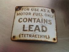 Metal Gas Sign (TETRAETHYL)