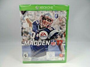 Madden NFL 17 (Microsoft Xbox One, 2016)  *NEW*
