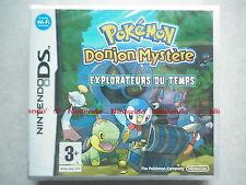 Pokémon Donjon Mystère Explorateurs Du Temps Jeu Vidéo Nintendo DS