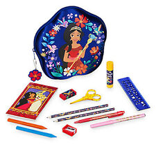 NWT Disney store Elena of Avalor Zip up stationary Kit School Supplies