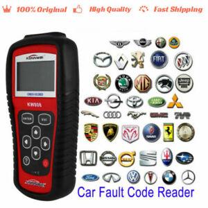 KW808 EOBD OBDII OBD2 Cars Fault Code Reader Vehicle Scanner Diagnostic Tester