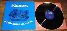 Il watersons ~ uno Yorkshire Garland ~ UK argomento FOLK LP 1966