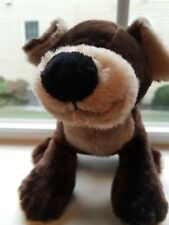 Ganz Webkinz Mocha Pup HM348 no code Plush Stuffed Animal Very soft & cuddly