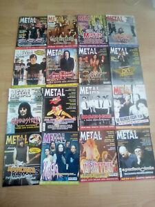 METAL SHOCK ANNO 2004 , n° 16 GIORNALI DAL N° 397 al 420 con numeri mancanti