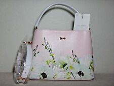 NWT Ted Baker London Pearly Petal Bow Small Tote, Nude Pink