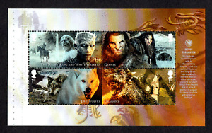 GB 2018 Game of Thrones~Prestige Stamp Booklet Pane~3~ex DY24~MNH~UK Seller