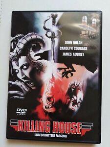 DVD KILLING HOUSE  -  TERROR  UNCUT FASSUNG  HORROR KULT FILM RARITÄT