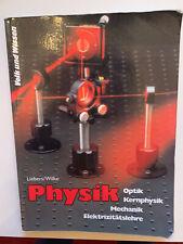 Physik Lehrbuch Klasse 9 und 10 Volk und Wissen 1993