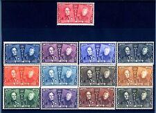 BELGIO - 1925 - 75° anniversario dei francobolli belgi