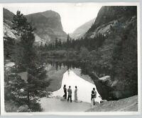 1935 Mirror Lake Yosemite by Ansel Adams High Quality 11x14 Archival Photo