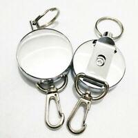 Einziehbare Schlüsselkette Recoil Einfach zu ziehen Schlüsselring E5Q0 Gürt L8O0