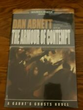 WARHAMMER 40K BLACK LIBRARY GAUNT'S GHOSTS ARMOUR OF CONTEMPT DAN ABNETT 1ST HB