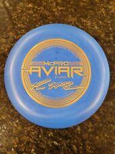 Innova Mcpro Mcbeth Aviar 3x Top 4x 4peat World Champ Bottom Stamp Blue 175g New