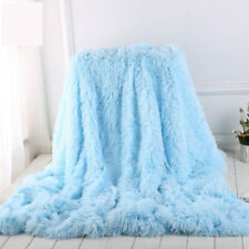 Bedspread Large Luxury Mink Warm Throw Over Bed Soft Blanket Sleeping Sofa plush