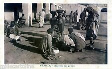 LIBIA - BENGASI  - mercato del grano