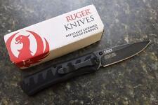 CRKT RUGER Steigerwalt Crack-Shot R1201K Assisted Opening Folding Knife 8Cr13MoV