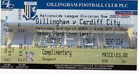 Ticket - Gillingham v Cardiff City 03.04.04