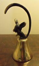 Walter Bosse Mouse bell Hagenauer brass