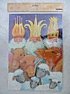 CHRISTMAS Advent Calendar + Envelop by Woodmansterne (UK print, New Unopened)