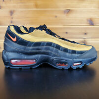 Nike Air Max 95 Essential Black Cosmic Clay AT9865-014 Running Shoes Men's NEW