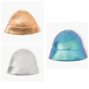 Gymboree Girl's Acrylic Shimmer Winter Fall Hats NWT