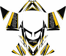 SKI DOO SNOWMOBILE WRAP KIT REV,XP, XR,XS,XM, MXZ 03-16 STRIPE DECAL STICKER
